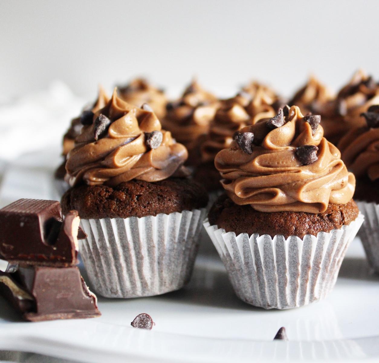choco-cupcakes