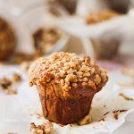 jumbo one bowl bakery style banana walnut muffins