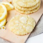 recipe for the best chew lemon cookies with bright lemon flavor